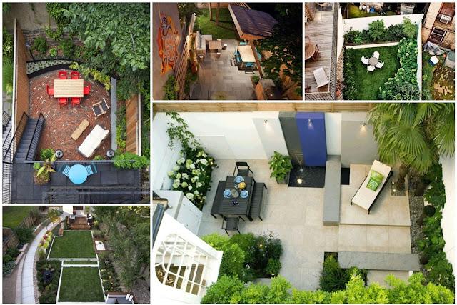 16 Home Backyard Decorating Ideas - Upper View