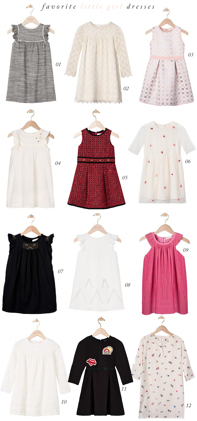 Stylish Little Girls Dresses (via Bubby and Bean)