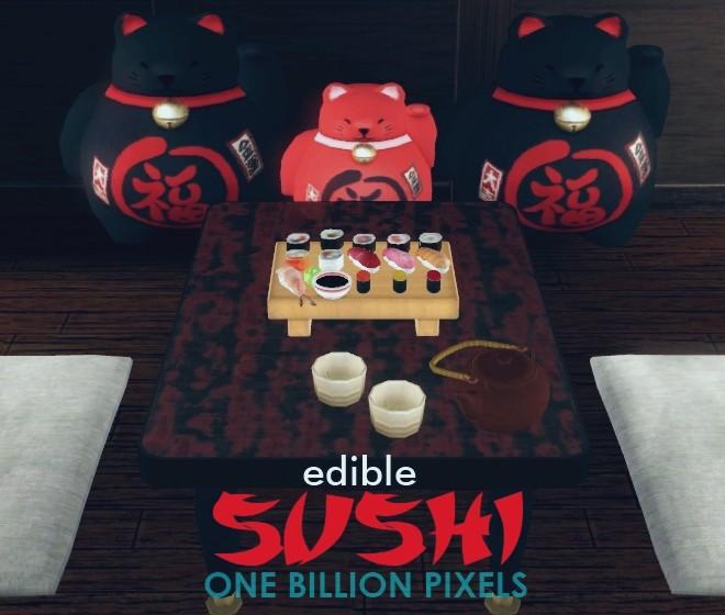 Edible Sushi - One Billion Pixels