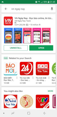 Đọc báo và kiếm tiền với app VN Ngày Nay B