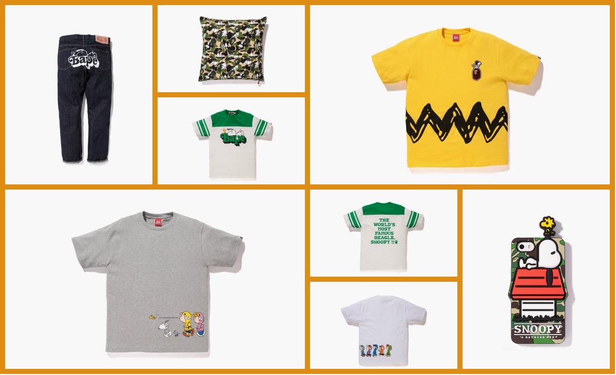 e8a2b503f0 A Bathing Ape x Peanuts Capsule Collection