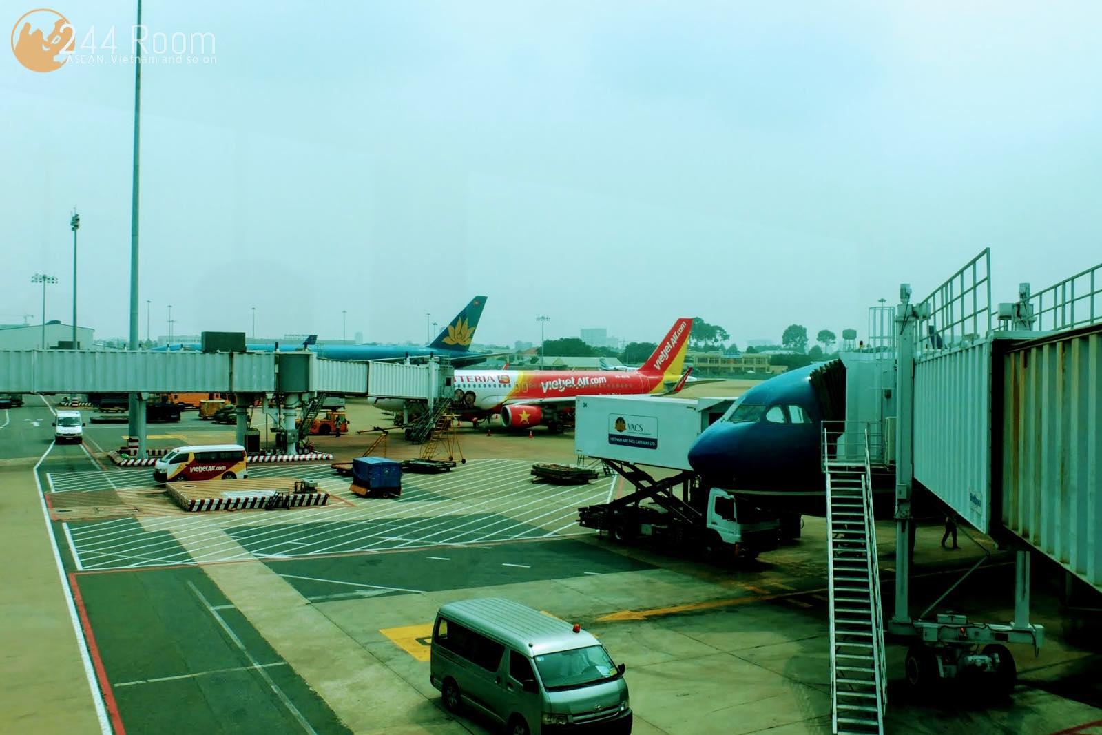 ベトナムの空港 Airport in Vietnam