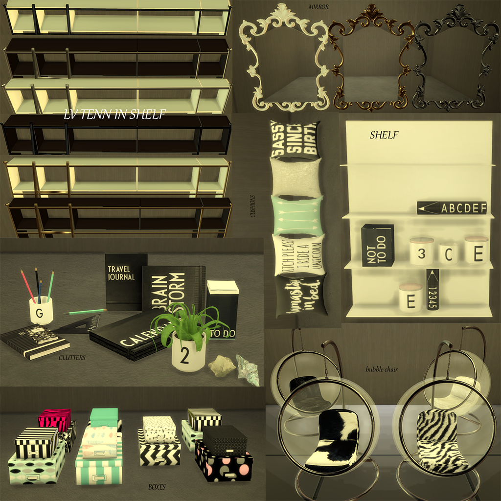 Teen In Style Study By Lunaticavillage The Sims Catalog