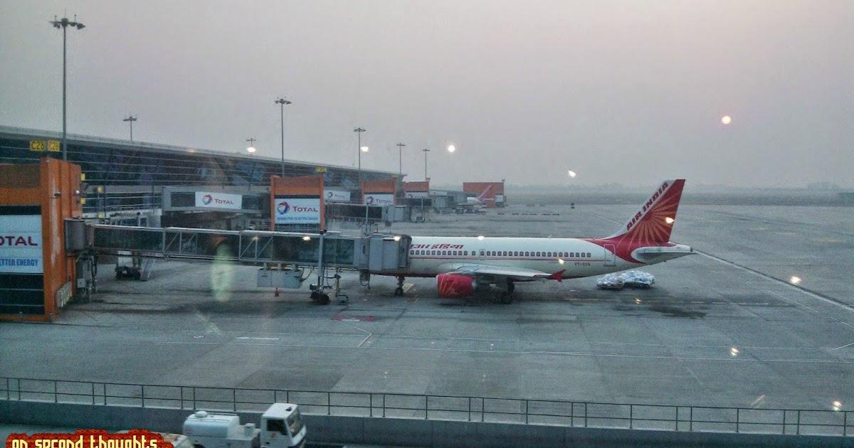 First Time Flight Travel Indigo