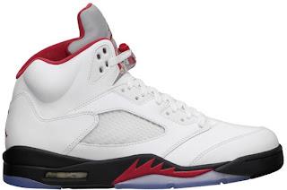 get cheap 8c823 4ad53 05 25 2013 Air Jordan 5 Retro 136027-100 White Fire Red-Black  160.00