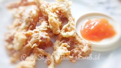 Resep Masak Jamur Crispy