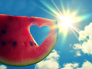Eat Watermelons in Summer