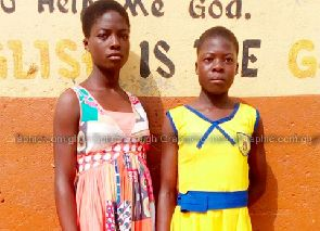 Twins run shift in one school uniform - one drops out of school