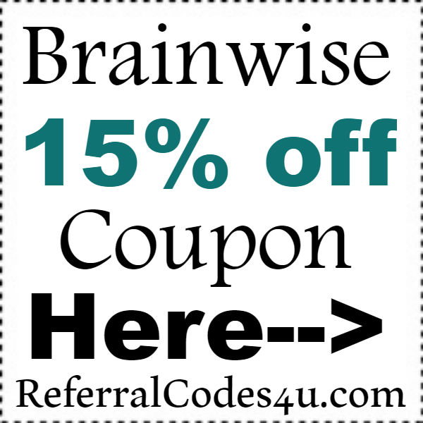 Brainwise Coupon Code 2016-2017,  Brainwise 15% off October, November, December
