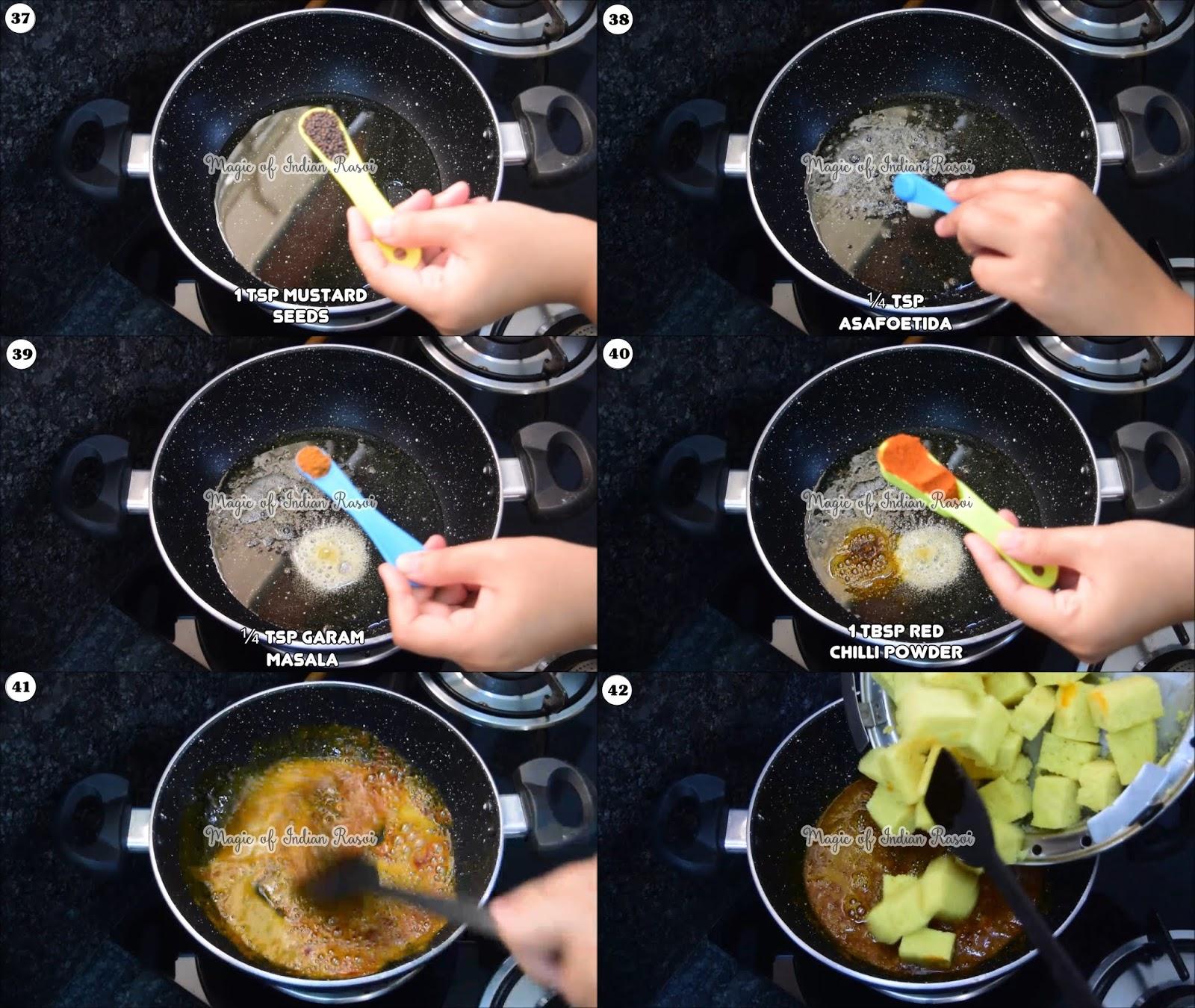 Tam Tam Khaman Dhokla Recipe - 8