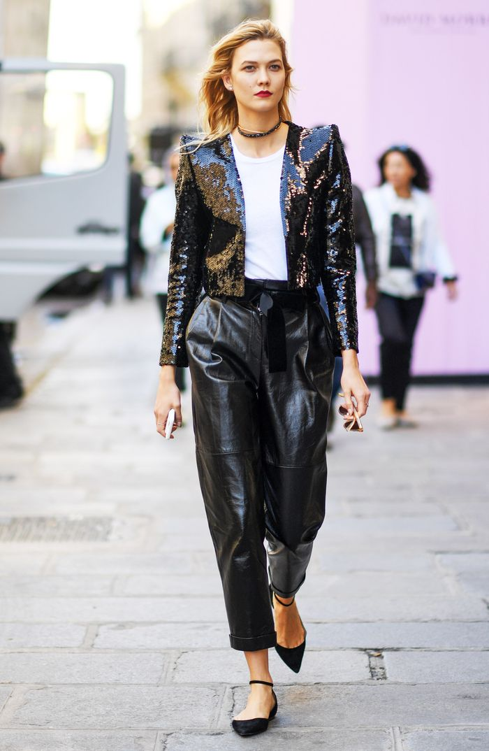 The Best Sequin Jackets — Karlie Kloss Street Style