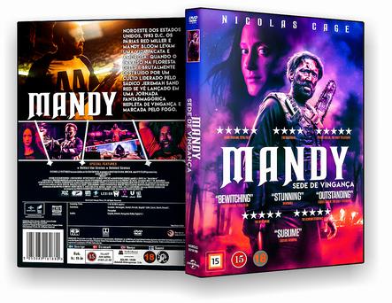 CAPA DVD – Mandy Sede De Vingança – AUTORADO
