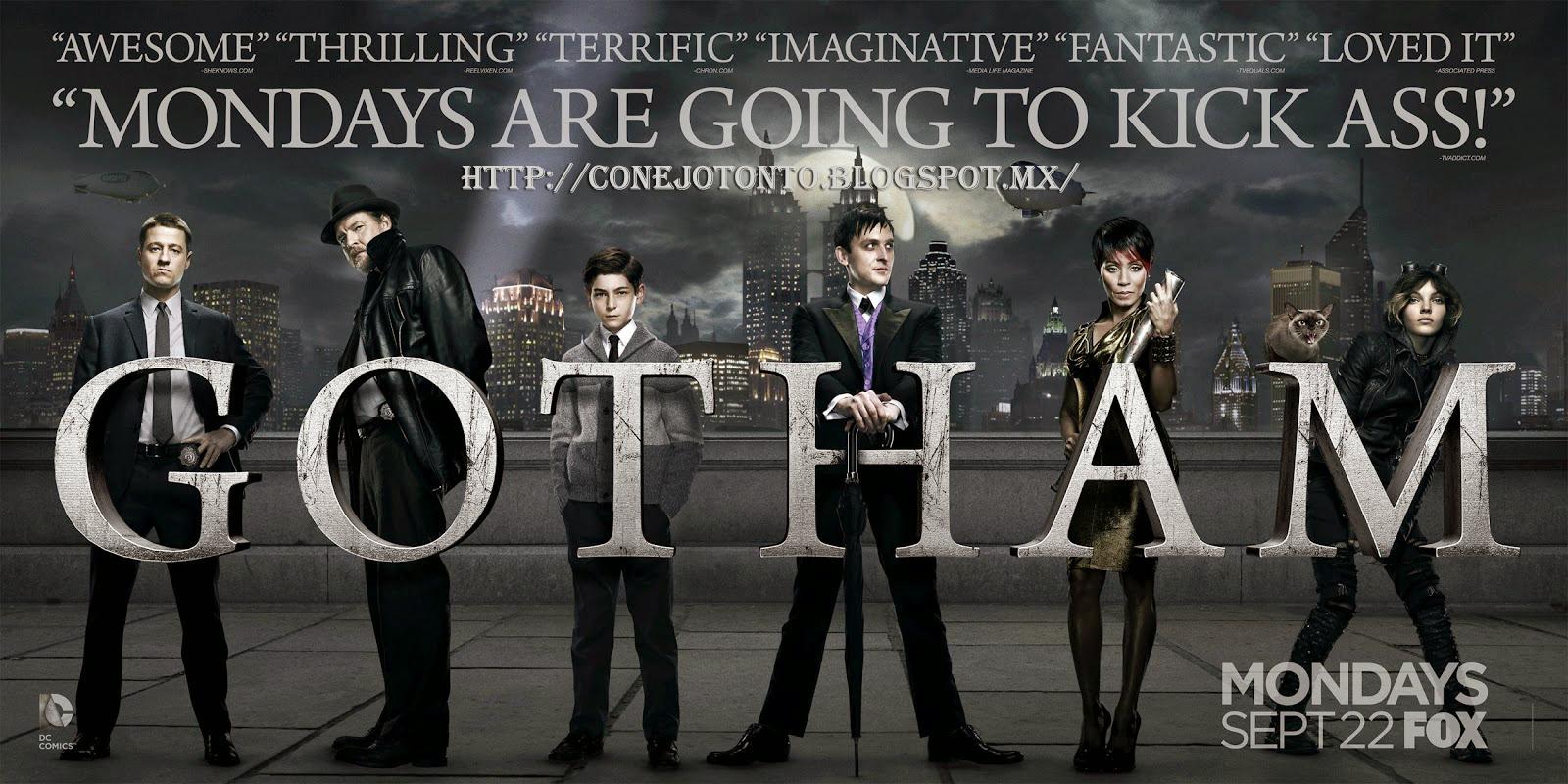 Gotham season 2 Gotham temporada 3 espanol
