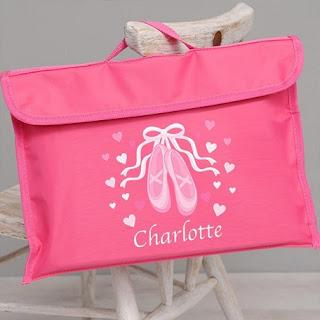 ballet book bag