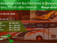 Sewa Bus Pariwisata di Bandung Harga Murah 2020