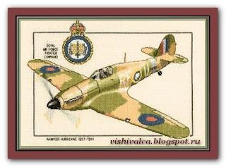 "Heritage Crafts Серия: Aeroplanes CHH257 ""Hawker Hurricane"""