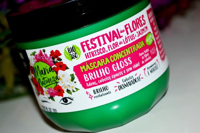Máscara festival das Flores Salon line