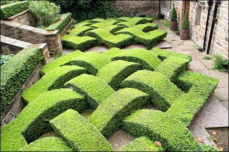 Explorando en el jard n jardines de nudos y laberintos for Tipos de cesped natural para jardin