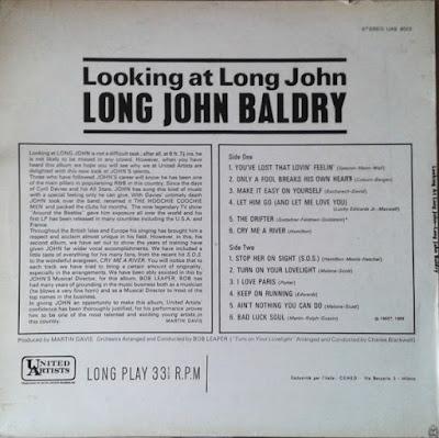 Long John Baldry – Looking At Long John (1966)