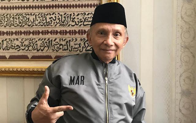 Amien Rais Sebut Tanda-tanda Jokowi Bakal Tumbang