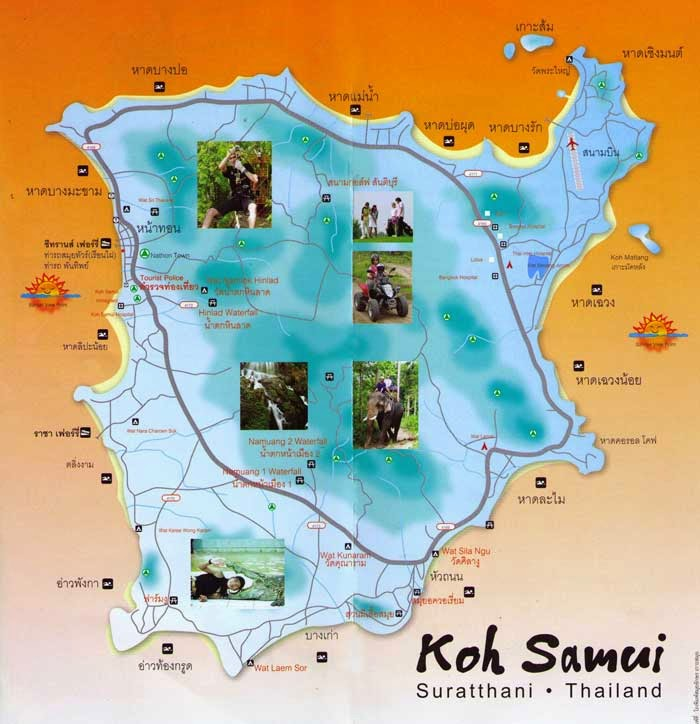 Samui Tour by private car sightseeing around Koh Samui to see all