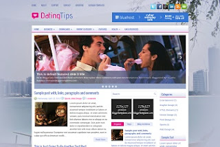 Blogger Template Dating Tips