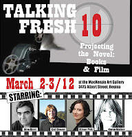 Talking Fresh poster, 2012