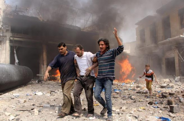 Lagi, Pesawat Rezim Nushairiyah Suriah Luncurkan Serangan Bom Vakum di Idlib
