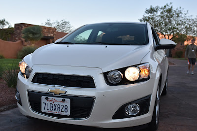 1200 Mile Desert Road Trip...In a Chevy Sonic Turbo