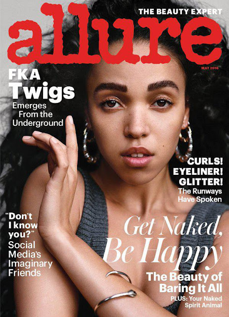 Singer, @ FKA Twigs - Allure May 2016