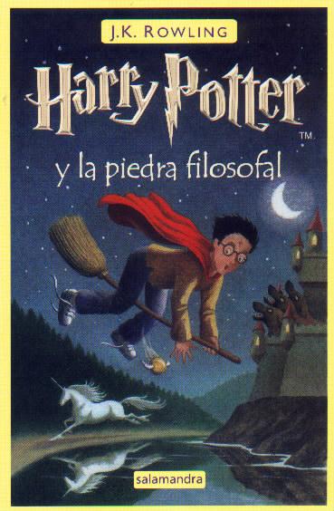 MIS LIBROS: HARRY POTTER Y LA PIEDRA FILOSOFAL, J.K. Rowling