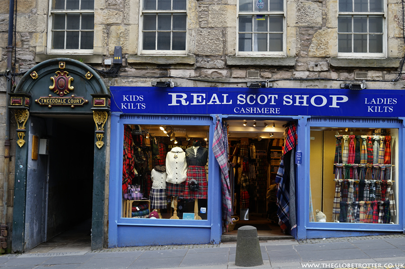 Shopping in Edinburgh
