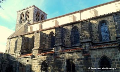 Abbaye de Mozac, Puy de Dôme.