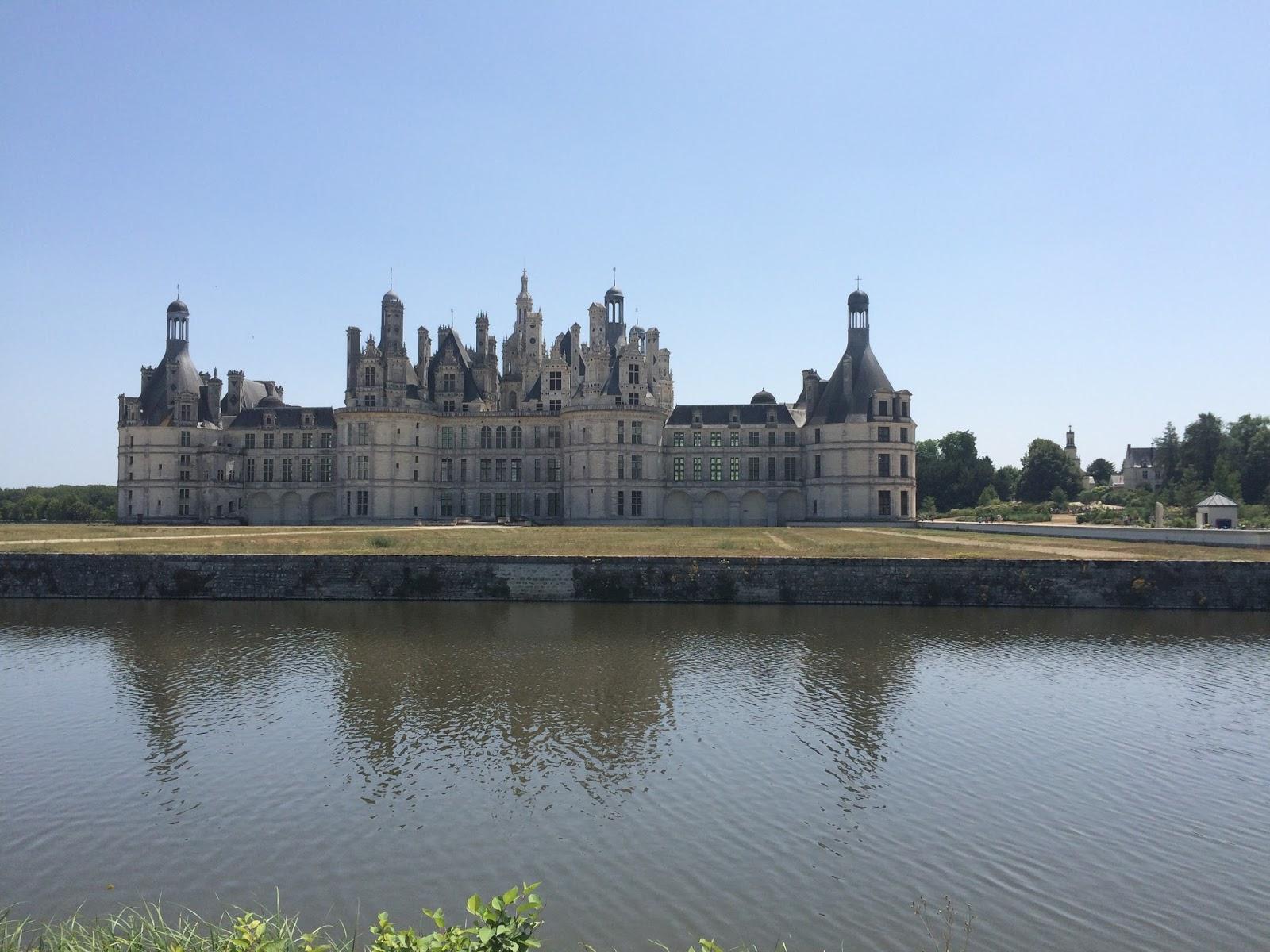 trasa rowerowa nad Loarą, zamek w Chambord