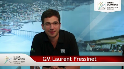 L'interview vidéo de Laurent Fressinet après la ronde 3 - Photo © site officiel