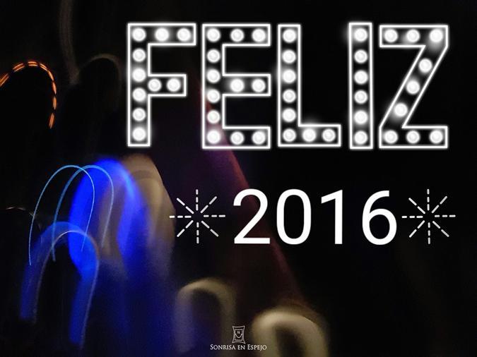Feliz 2016 de Sonrisa en Espejo