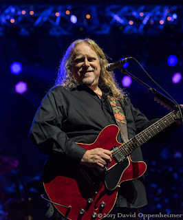 Warren Haynes performing at the Warren Haynes Christmas Jam