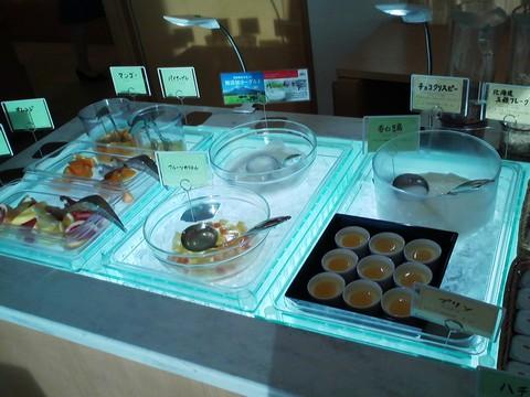 ビュッフェコーナー:デザート1 オーセントホテル小樽カサブランカ