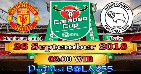 Prediksi Bola855 Manchester United vs Derby 26 September 2018