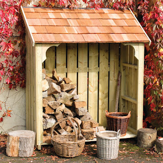 Timber Log Stores - Made in the UK