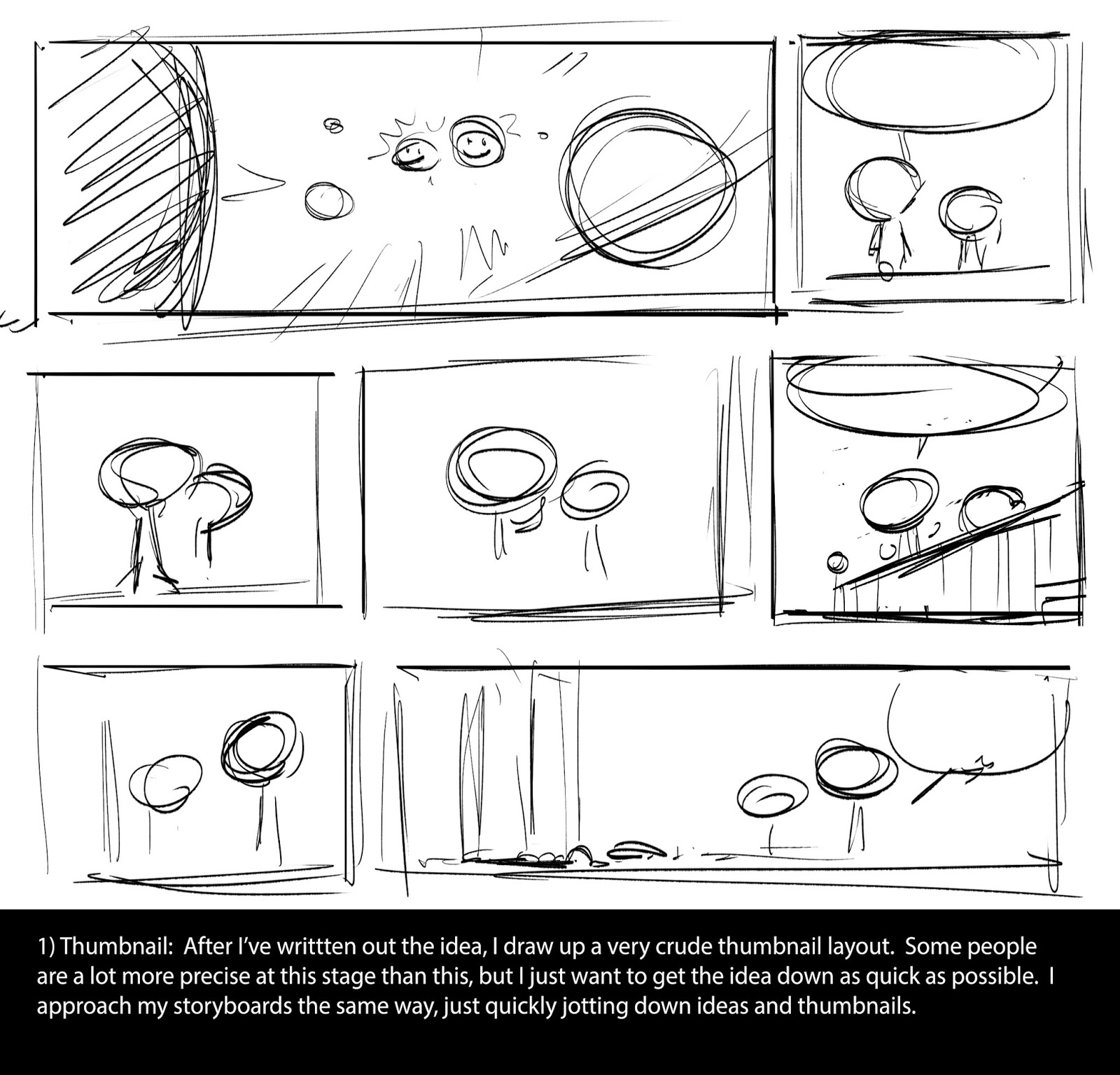 Tangled Life of Le Tang: Comic strip, step-by-step