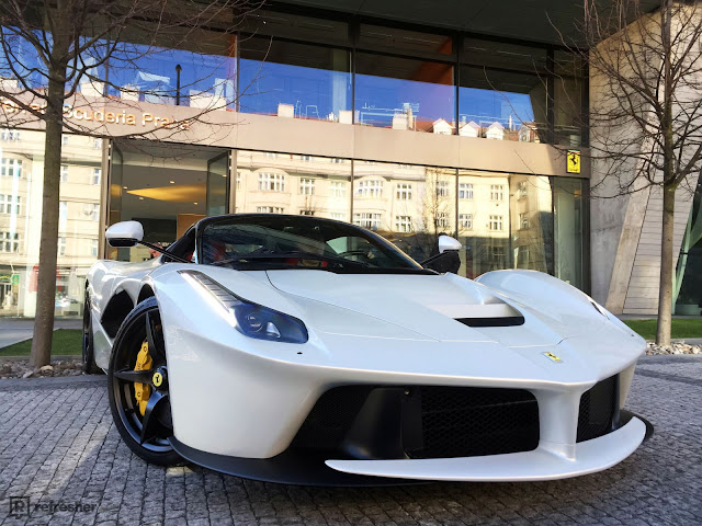 Exclusively: The third Czech LaFerrari looks and sounds like 35 million crowns?