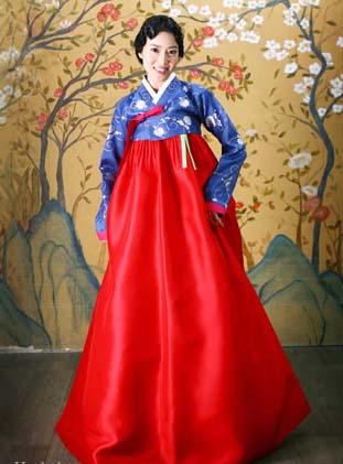 Korean Traditional Wedding Hanbok Designs  Wedding Dress
