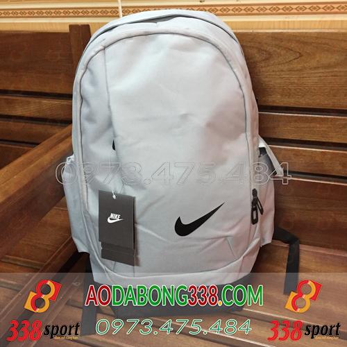 Balo Bóng Đá Giá Rẻ Nike Xám