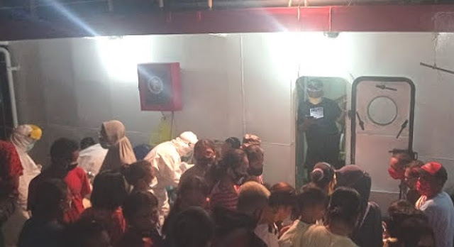 Kasrul Selang Ungkap 16 Penumpang KM Sabuk Nusantara 34 di Tanimbar Positif COVID-19
