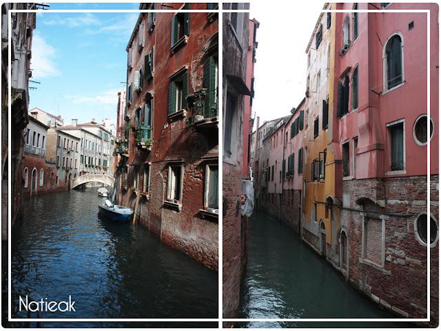 Venise et ses petits bateaux particuliers