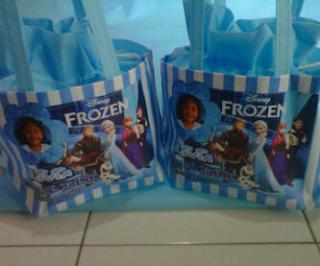 tas ultah anak frozen