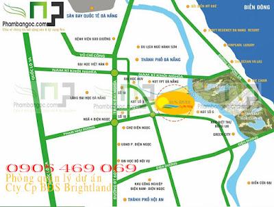 sunriver city sơ đồ vị trí
