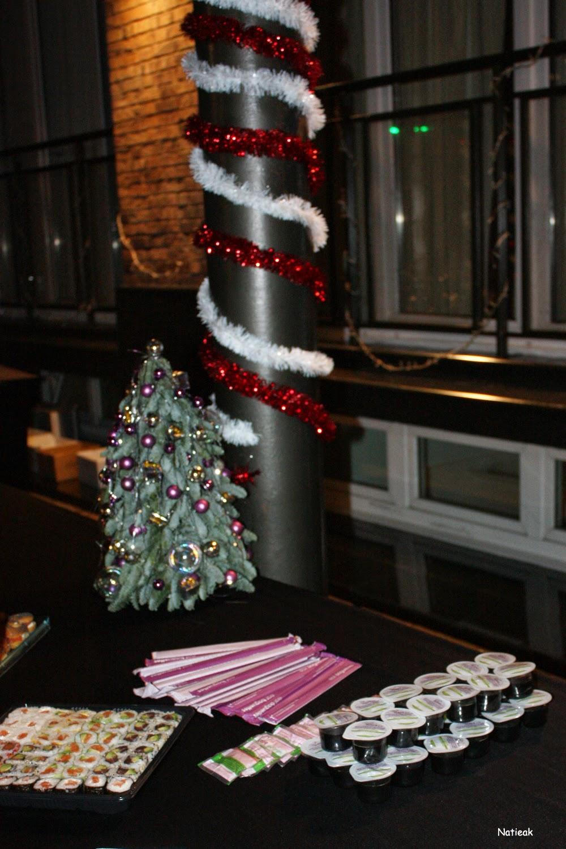 buffet soirée Noël e-Parisiennes
