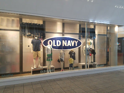 don't buy old navy and the gap clothes, Instead try... old navy storefront